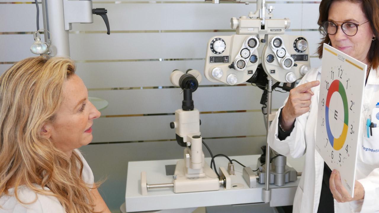 Consultas y revisiones de baja visión