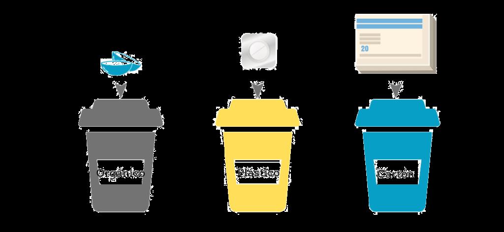 reciclado de lentillas