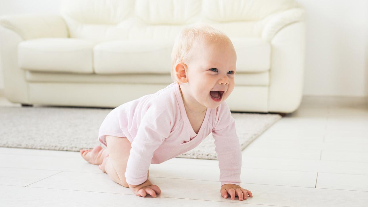 desarrollo motor bebé